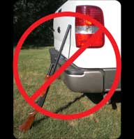 Don't Rest Your Gun like this! Use the MAGnet Gun Caddy